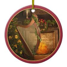 celtic harp ornaments keepsake ornaments zazzle