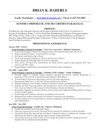 Paralegal Sample Resume by Paralegal Resume Example General Contractor Objective Learn New