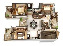 One Bedroom House Floor Plans Download 3d House Floor Plans Home Intercine