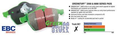 lexus rx300 brake pads greenstuff brake pads