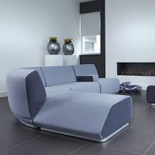 modular sofa contemporary leather fabric manhattan artifort