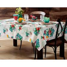 the pioneer woman country garden tablecloth 52