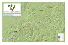 Tennessee City Map by The Route U2013 Mountain Goat Trail