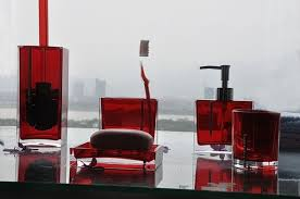 Black Bathroom Accessories by Red Bathroom Sets Bathroom Design Ideas Full Black And Red