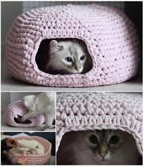 knitting pattern cat cave cute and cuddle crochet cat cave