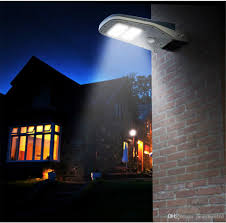 Solar Lights Patio by New 30 Led Solar Light Ip65 Waterproof Wide Angle Security Motion