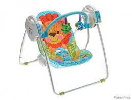 portable baby swing with lights best steals and splurges baby swings parenting