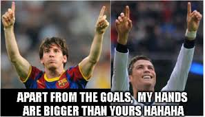Funny Messi Memes - messi vs ronaldo funny meme lol pinterest messi vs ronaldo