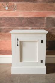 Wood Plans For Bedside Table by Ana White Panel Nightstands Diy Projects