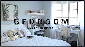 bedroom makeover reveal 2017 home decor twilightchic143 youtube