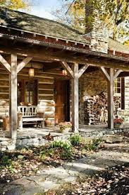 How To Decorate A Log Home Best 25 Cabin Porches Ideas On Pinterest Cabin Furniture