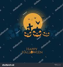halloween pumpkins housecatbat silhouettefull moon background