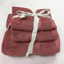 organic cotton terry bath towels set