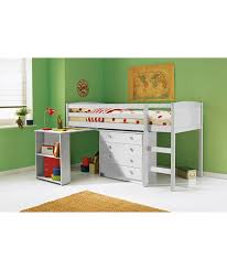 Argos Bedroom Furniture Buy Kelsey Mid Sleeper Bed Frame With Desk White At Argos Co Uk