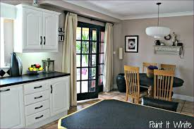 paint my kitchen cabinets gray painting black without sanding