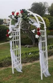 wedding arches decorated with burlap how to decorate an arch for a wedding wedding corners