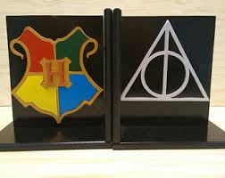harry potter bookends etsy