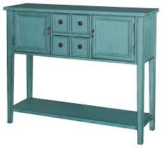Blue Table L Blue Console Table Chene Interiors
