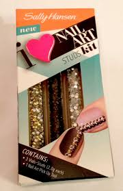 the element of beauty sally hansen u0027s i love nail art studs kit