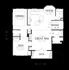 mascord house plan 22109 the anson