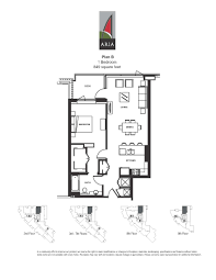 1 Bedroom Condo Floor Plans by Aria 2 Bedroom U2013 Plan J