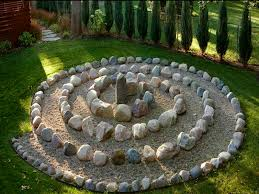 Meditation Garden Ideas A Simpler Version Of This Could Look Around The Big Stump