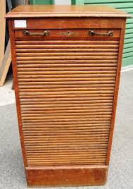 Tambour Door Cabinet An Oak Filing Cabinet With Tambour Door Filing Cabinets