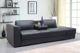 new modern faux leather kensington storage drawers 3 seater sofa