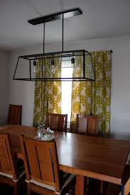 Dining Rooms Decor by Rustic Rectangular Dining Room Light Fixtures Pendant Lights Over