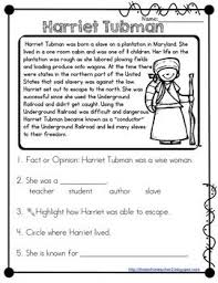collections of harriet tubman worksheets 2nd grade wedding ideas