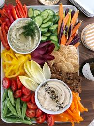 white bean dip with winter crudité for thanksgiving cupcakes