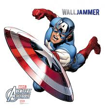 captain america avengers assemble wall sticker dream scenes captain america avengers assemble wall sticker