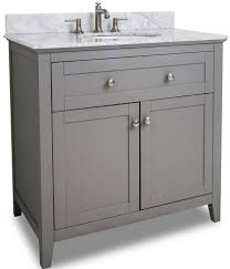 gray shaker style bathroom vanities a bathroom trend for 2015