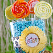 Baby Shower Table - baby shower table display ideas party city
