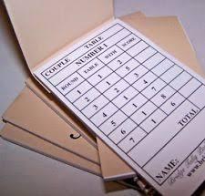 two table progressive tally unbranded bridge vintage card games ebay