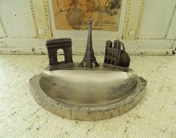 french ashtray souvenir paris france eiffel tower notre dame