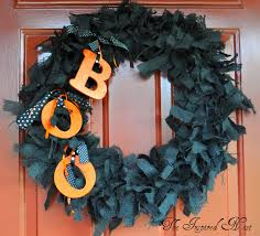 Black Halloween Wreath Amazing And Spooky Halloween Wreath Ideas Themescompany