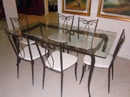 tavoli di cristallo sala da pranzo gallery of emejing basi per tavoli in cristallo photos sedia in