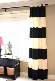 White And Navy Striped Curtains Navy And White Striped Curtains Tahrirdata Info