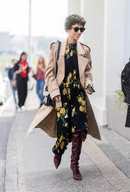 dresses with boots the dress and boot combo every it girl is wearing
