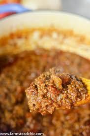 easy 8 ingredient paleo u0026 whole30 chili u2022 farmstead chic
