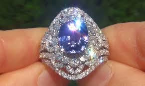 chagne diamond engagement ring sapphire diamond ring 9 04 ct certified jewelry