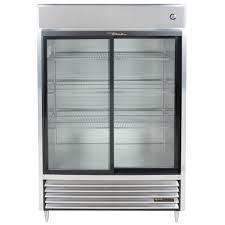 coca cola fridge glass door true tsd 47g ld two section sliding glass door reach in