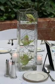 square centerpiece 1 short vase