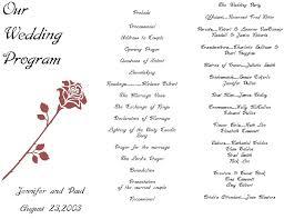 Wedding Party Program Template Die Besten 25 Wedding Ceremony Program Template Ideen Auf