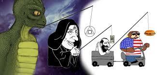 Reptilian Meme - soros and reptilians controlling the world yair netanyahu posts