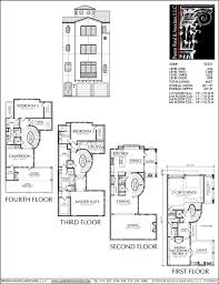 Compact Floor Plans 52 Best 4 Story Th Plan Images On Pinterest House Floor Plans 4