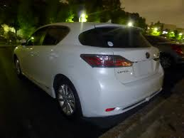 lexus ct200 custom file lexus ct200h zwa10 at night rear jpg wikimedia commons