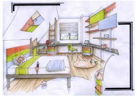 dessiner une chambre en perspective beautiful chambre en perspective dessin images matkin info