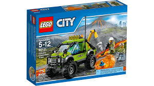 lego police jeep instructions 60121 volcano exploration truck lego city products and sets